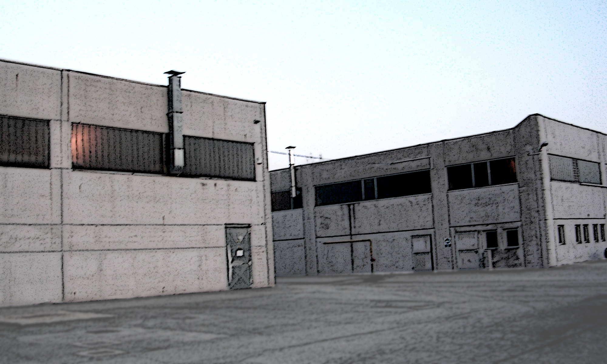 I capannoni della Zincorotostatica