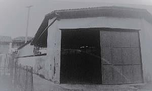 Il primo capannone di Zincorotostatica