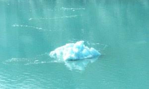 natura: immagine di lago ghiacciato